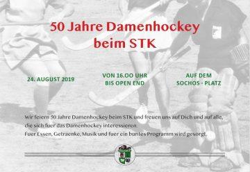50 Jahre Damenhockey im STK