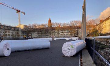 Sochosplatz: Jetzt geht es voran!